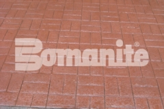Connecticut Bomanite Systems earned the 2018 Bomanite Imprint Systems Bronze Award for their expert installation of 31,450 square feet of Bomanite Basketweave Brick imprinted concrete and their arduous efforts resulted in a beautiful hardscape surface that complements the surrounding design aesthetic.