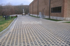 Bomanite Stone Filled Grasscrete Concrete